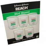 Reach Mint Waxed Dental Floss 100 Yards Per Pack (Pack of 5) thumbnail