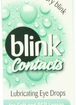 AMO Blink Contact Lubricant Eye Drops for Soft and RGP Lenses, .34-Ounce Box (Pack of 3) image
