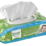 Seventh Generation Thick & Strong Free and Clear Baby Wipes with Flip Top Dispenser, 768 Ct thumbnail