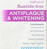 Tom's of Maine Tartar Control and Whitening Fluoride-Free Toothpaste, Peppermint, 5.5 Ounce ( Pack of 2 ) thumbnail