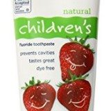 Tom's of Maine Anticavity Fluoride Children's Toothpaste, Silly Strawberry, 4.2-Ounce, 3 Piece thumbnail