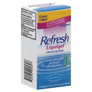 Refresh Liquigel Lubricant Eye Drops 1 Fluid Ounce (2×15 ml) image