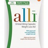 alli® Weight Loss Aid, Orlistat 60mg Capsules,120ct Refill Pack thumbnail