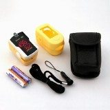 Concord Topaz Fingertip Pulse Oximeter with free carrying case, lanyard and protective cover thumbnail