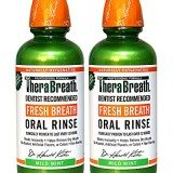 TheraBreath Dentist Recommended Fresh Breath Oral Rinse – Mild Mint Flavor, 16 Ounce (Pack of 2) thumbnail