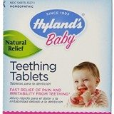 Hyland's Homeopathic Teething Tablets 100% Natural Symptomatic Relief for Teething in Children 135 Tablets thumbnail