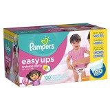 Pampers Easy Ups Training Pants, Size 2T3T Value Pack Girl ,100 Count thumbnail