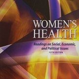 Women's Health: Readings on Social, Economic, and Political Issues thumbnail