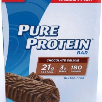 Pure Protein Chocolate Deluxe Value Pack,6 Count 50 Gram Bars (Pack of 2) image
