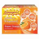 Emergen-C Super Orange, 1000 mg of Vitamin C, 0.32 Ounce, 30-Count thumbnail