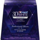 Crest 3D White Luxe Whitestrips Professional Effects – Teeth Whitening Kit 20 Treatments thumbnail