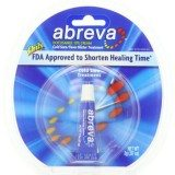 Abreva Cold Sore/Fever Blister Treatment, .07-Ounce Tube thumbnail