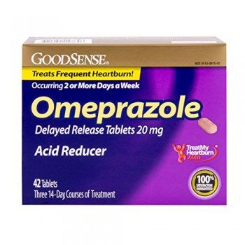 Good Sense Omeprazole Delayed Release, Acid Reducer Tablets 20 mg, 42 Count image