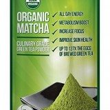 Matcha Green Tea Powder – ORGANIC – All Day Energy – Green Tea Lattes – Smoothies – Baking – Improved Hair & Skin Health- Metabolism Boost – Antioxidant Rich – Now From Japan! thumbnail