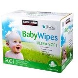 Kirkland Signature Baby Wipes 900 Count thumbnail