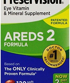PreserVision AREDS 2 Vitamin & Mineral Supplement 120 Count Soft Gels image