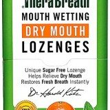 TheraBreath Dentist Recommended Dry Mouth Lozenges, Sugar Free, Mandarin Mint Flavor, 100 Count thumbnail
