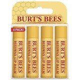 Burt's Bees Lip Balm, Beeswax, 0.15 oz., 4 Count thumbnail