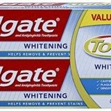 Colgate Total Whitening Toothpaste Twin Pack (two 6oz tubes) thumbnail