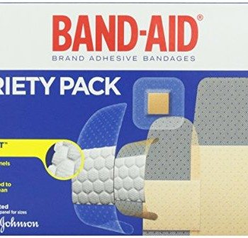 Band-Aid Brand Adhesive Bandages, Variety Pack, 280 Count image