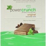 Power Crunch Protein Energy Bar, Chocolate Mint, 1.4-Ounce Bars, 12 Count thumbnail
