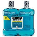 Cool Mint Listerine Antiseptic Mouthwash (2 X 1.5lt) thumbnail