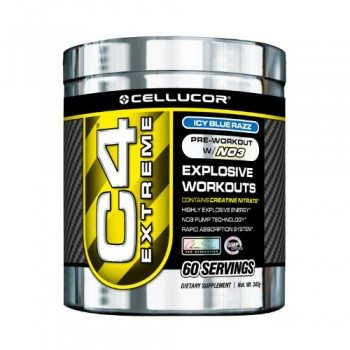 Cellucor C4 Extreme Workout Supplement, Icy Blue Razz, 342 Gram image