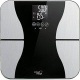 Smart Weigh Body Fat Digital Precision Scale with Tempered Glass Platform, Eight User Recognition, and 440 lb Weight Capacity, Measures Weight, Body Fat, Water, Muscle and Bone Mass thumbnail