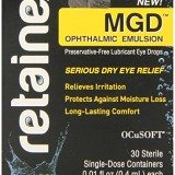 Retaine MGD Ophthalmic Emulsion Preservative-free Eye Drops 30 Single-dose Containers thumbnail