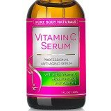 BEST ORGANIC Vitamin C Serum For Face. Botanical 20% Vitamin C + E + Hyaluronic Acid Serum. + Skin Care Ebook. #1 Anti Aging Serum Moisturizer with Natural Ingredients. + Organic Aloe + Amino Blend, Anti Wrinkle Serum Facial Skin Care, Helps Repair Sun Damage, Gradually Fades Sun & Age Spots & Reduces Fine Lines. Perfect Valentine GIFT for Men & Women. Our Vitamin C Serum Will Leave Your Skin More Radiant, Beautiful & Youthful Looking. We'll refund your money if not satisfied! Try it Without Risk Today! thumbnail