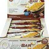 Quest Nutrition Protein Bar S'mores, 2.12 oz per bar, 12 Count thumbnail