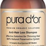 PURA D'OR Anti-Hair Loss Premium Organic Argan Oil Shampoo (Gold Label), 16 Fluid Ounce thumbnail