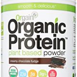 Orgain Organic Plant Based Protein Powder, Creamy Chocolate Fudge, 2.03 Pound, 1 Count thumbnail