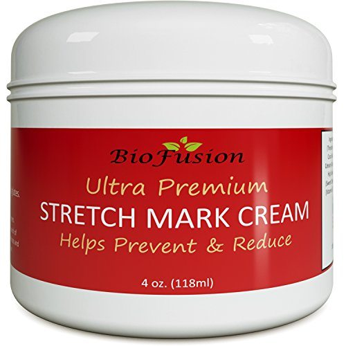 Natural Scar Removal Cream for Women and Men – Fade Old Scars and Stretchmarks With Pure Vitamin E & Moisturizing Coconut Oil And Jojoba Oil – By Biofusion image