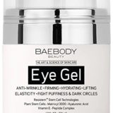 Baebody Eye Gel for Dark Circles, Puffiness, Wrinkles and Bags – The Most Effective Anti Aging Eye Gel for Under and Around Eyes – 1.7 fl oz thumbnail