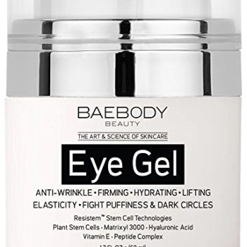 Baebody Eye Gel for Dark Circles, Puffiness, Wrinkles and Bags – The Most Effective Anti Aging Eye Gel for Under and Around Eyes – 1.7 fl oz image