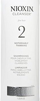 Nioxin Cleanser, System 2 (Fine/Noticeably Thinning )shampooing, 33.8 Ounce image