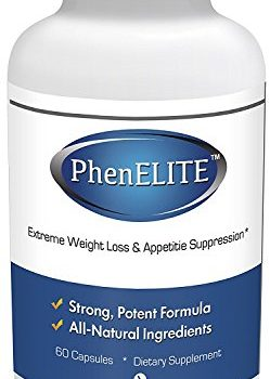 PhenELITE – HIGHEST Rated Pharmaceutical Grade Weight Loss Diet Pills – Fast Weight Loss, Hyper-Metabolising Fat Burner and Appetite Suppressor – AIDS IN WEIGHTLOSS! image