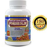 Forskolin Pure Extract 500mg Serving, 180 Veggie Capsules, Premium Quality, High Potency, 2 Months Supply, Best Value on Market, Experience the Forskolin Extract Dietary Supplement for Weight Loss thumbnail