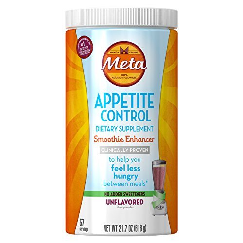 Meta Appetite Control Weight Loss Supplements, Unflavored Smoothie Enhancer Appetite Suppressant, 57 Doses image