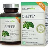 NatureWise 5-HTP 100 mg – Supports Appetite Suppression, Mood, Stress, and Sleep, 120 Vegetarian Capsules thumbnail