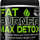 Weight Loss Pills – 30 Day Detox Cleanse, Burn Belly Fat Get Rid Of Toxins, Natural Formula Safe & Gentle Diet Pills That Work by Fat Burner Max thumbnail