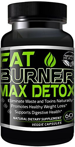 Weight Loss Pills – 30 Day Detox Cleanse, Burn Belly Fat Get Rid Of Toxins, Natural Formula Safe & Gentle Diet Pills That Work by Fat Burner Max image