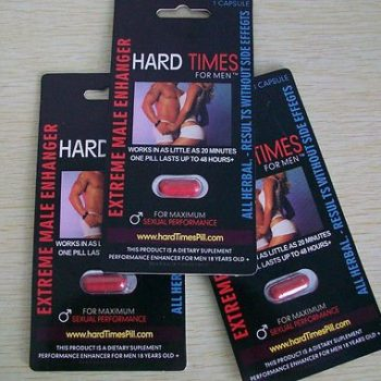 "3 Hard Times for Men – EXTREME MALE ENHANCEMENT PILLS – 3 PILLS PLUS FREE GIFT "" J 23 "" image"