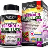 Forskolin Extract for Weight Loss. Pure Forskolin Diet Pills & Belly Buster Supplement. Premium Appetite Suppressant, Metabolism Booster, Carb Blocker & Fat Burner for Women and Men Coleus Forskohlii thumbnail