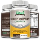 Vision Health Eye Supplement w/Lutein, Bilberry, Taurine, Lycopene, Quercetin, Minerals, Maximum Strength Vitamins for Eye Health from Tallwell Nutrition, 30 Day Complete Supply thumbnail