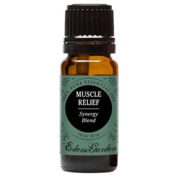 Muscle Relief Synergy Blend Essential Oil by Edens Garden- 10 ml (Clove, Helichrysum, Peppermint and Wintergreen) (Comparable to Young Living's PanAway blend) image