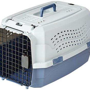 AmazonBasics 23-Inch Two-Door Top-Load Pet Kennel image