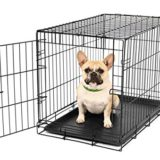 Carlson Secure and Compact Single Door Metal Dog Crate, Small thumbnail
