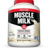 Muscle Milk Genuine Protein Powder, Vanilla Crème, 32g Protein, 4.94 Pound thumbnail